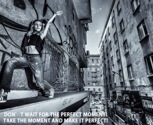 Нека сами създаваме успешните моменти! Добро утро!  Модел: Александра Ковачева - VS DANCE. Снимка: Владимир Груев.  #vsdance #studioVSdance
