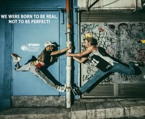 Добро утро танцьори! Пожелаваме ви ден, изпълнен с плиета, нови хореографии, много freestyle и много музика!  Модел: Виктория Димитрова Goldy и Анатоли Джоков Jokata - VS DANCE; Снимка: Владимир Груев.