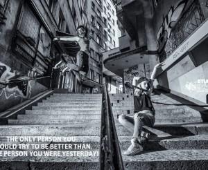 Нека бъдем по-добри от вчера!   И днес ще има много класове, много положителна емоция и много приятели! Ако имаш нужда от презареждане, ще те очакваме в Studio VS DANCE.  Модел: Михаела и Александра Ковачева - VS DANCE. Снимка: Владимир Груев.  #vsdance #stuidoVSdance
