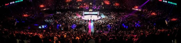 Overview of the Juste Debout 2018 at AccorHotels Arena in Paris, France 2018